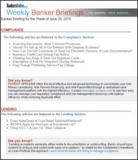 Banker Briefing