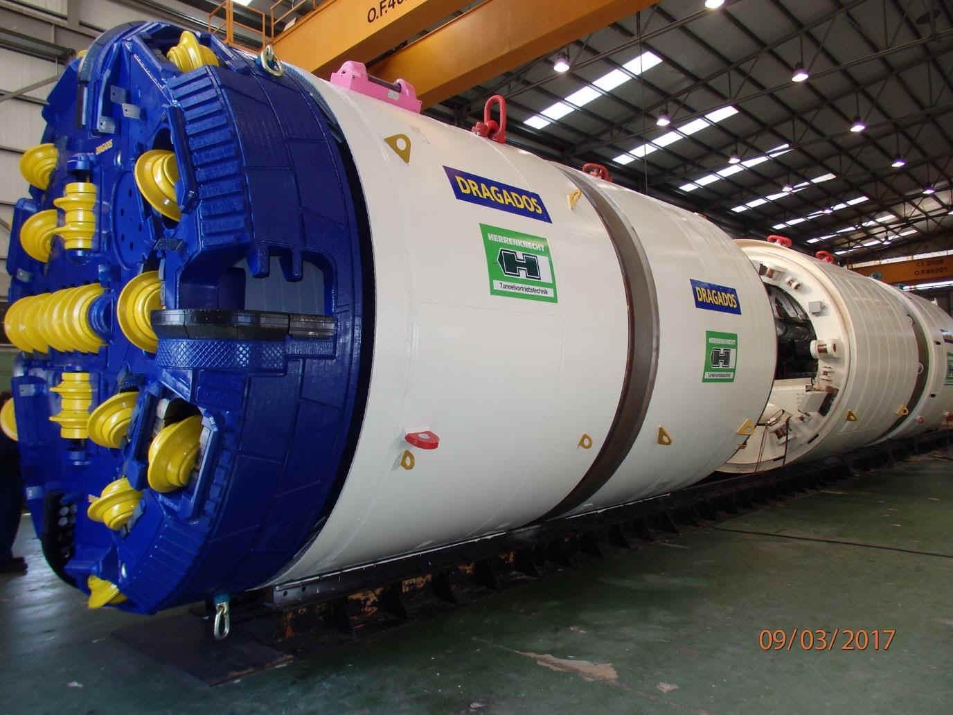 The Tunnel Boring Machine (TBM)