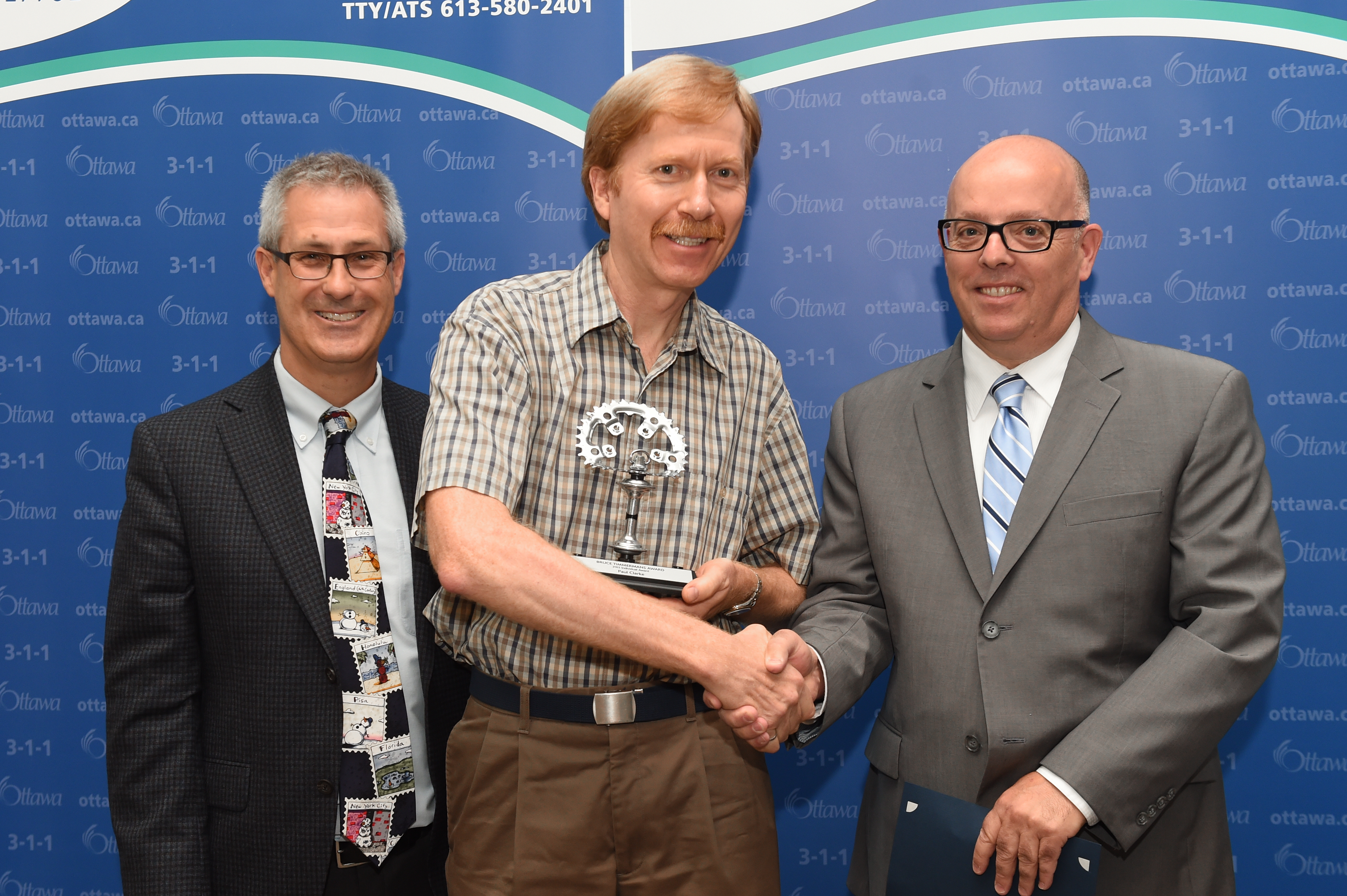 Picture of Paul Clarke, Keith Egli and Michael Mizzi