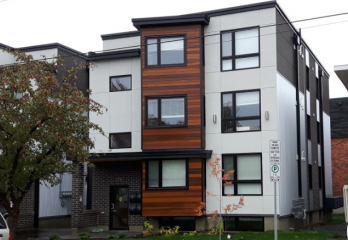 Picture of a modern three storey home