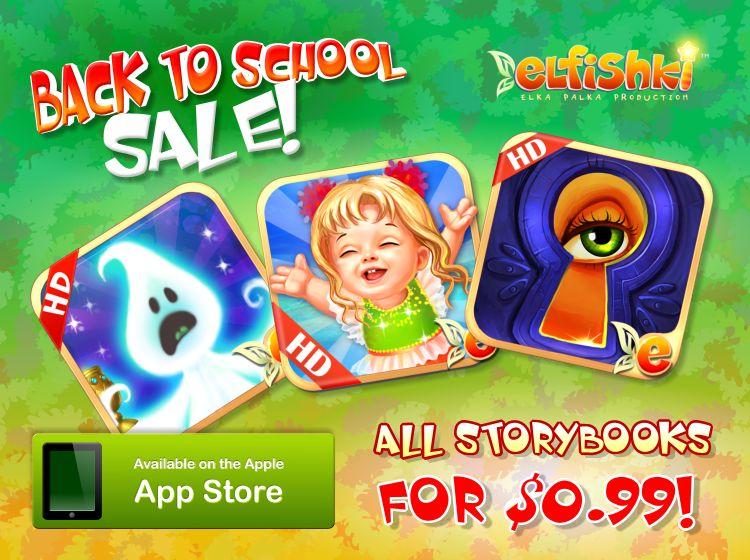 Elfishki Back to School Sale