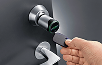 Aperio's lock technology integrated with Tyco