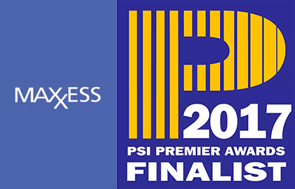 Maxxess is a finalist in the PSI Premier Awards