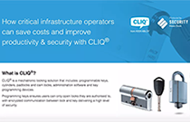 How you can save costs with CLIQ®