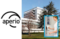 Aperio® wireless access control stops theft