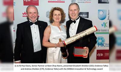 Evidence Talks wins Innovation & Technology award
