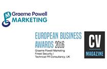 Graeme Powell Marketing wins a prestigious award