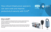 How to improve security with CLIQ®