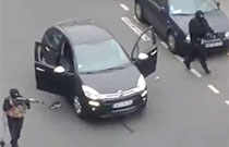 Gunmen attack Paris