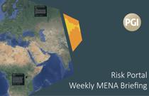 PGI's Risk Portal Weekly MENA Briefing