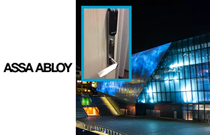 Aperio® wireless access control for Concert Hall