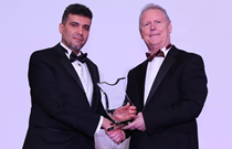 Eng Safwan Al Khatib receives award