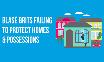 Blasé Brits failing to protect homes and possessions