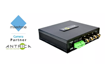 Antrica's IP Encoder partners with Milestone
