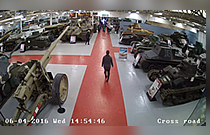 Hikvision's cameras secure The Tank Museum