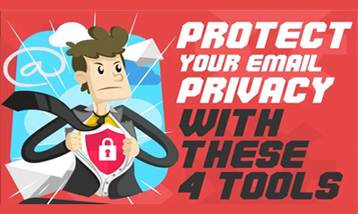 Four Email Privacy Tools to keep your email secure