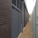 Police clad Ipswich store with Zaun HiSec Super8 fencing to hide from prying eyes