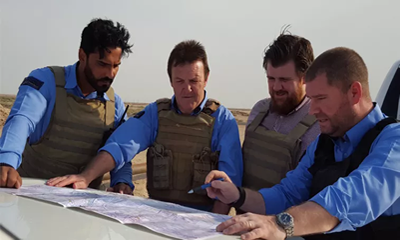 Going local for oil and people protection in Iraq