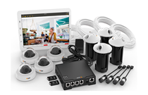 Axis offers a four-camera surveillance solution
