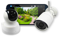 HomeControl+ Cameras: home monitoring