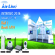 AirLive Wireless Surveillance Networking Solution at Intersec 2016