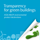 Future buildings need Environmental Product Declarations