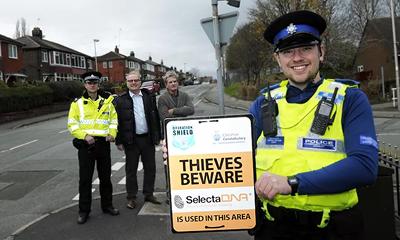SelectaDNA forensic marking behind Police's biggest burglary drop