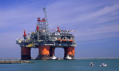 oil rig, greenpeace