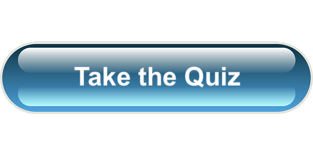 blue button quiz