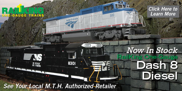 MTH Electric Trains G Gauge Newsletter - December 9, 2015
