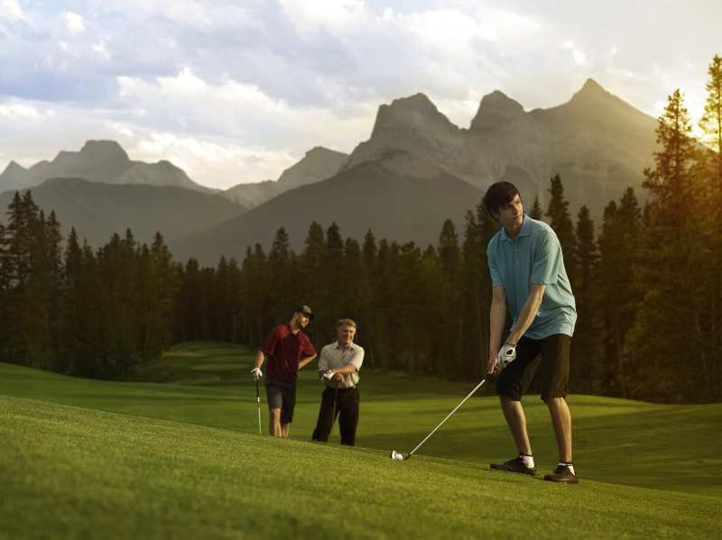 canmore golf