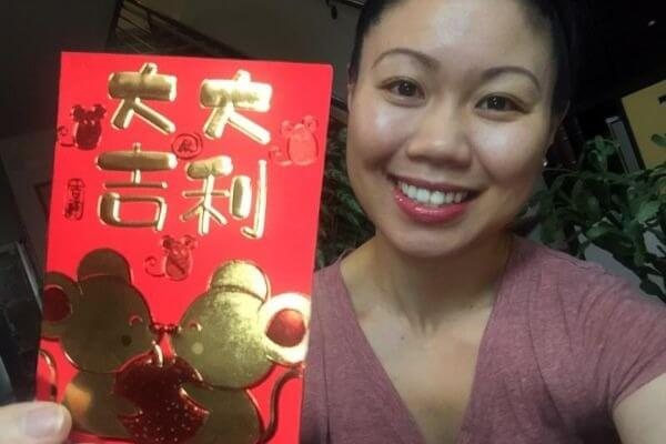 OfficeNinjas Co-Founder Nancy Chen-Salgado celebrating the Year of the Rat!