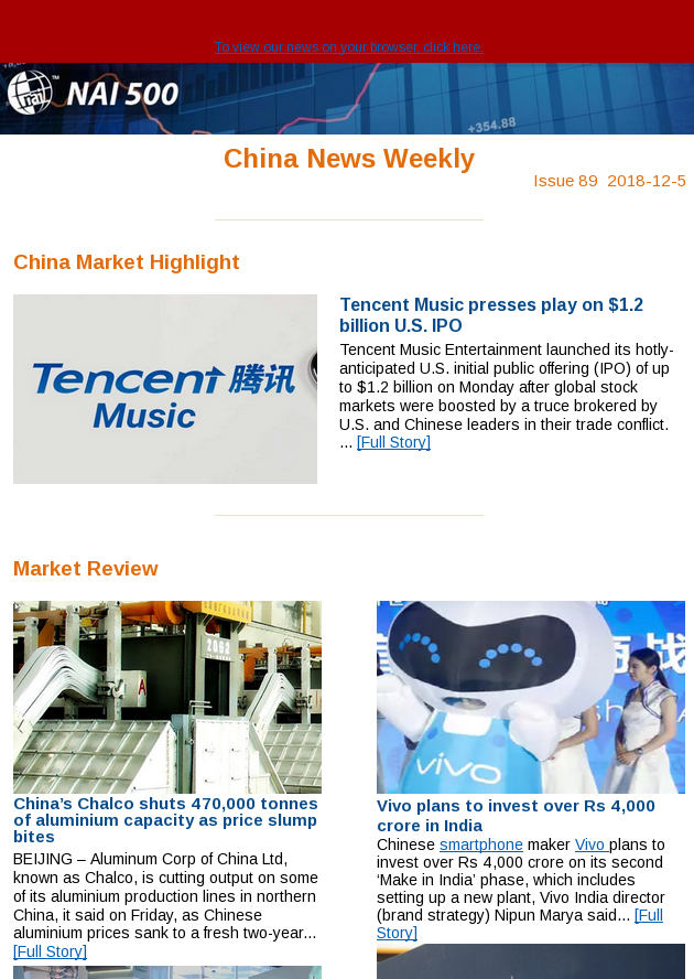 China News Weekly 89 - Tencent Music presses play on $1 2