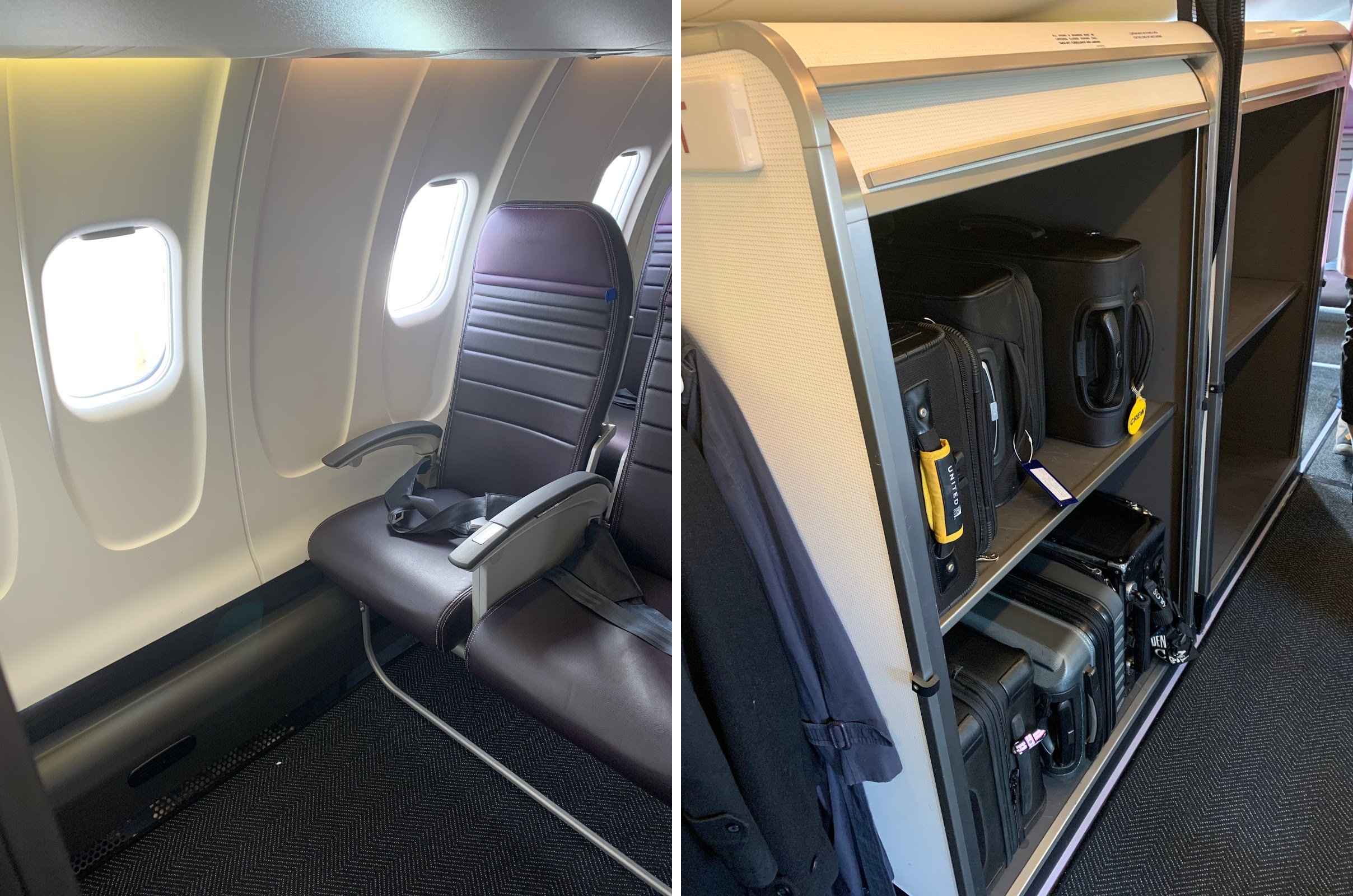 United Bucks The Big Plane Trend To Offer Legroom Places For Carry Ons Business Record