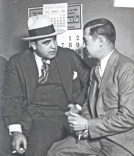 Picutre of Easy Eddie W/ Al Capone