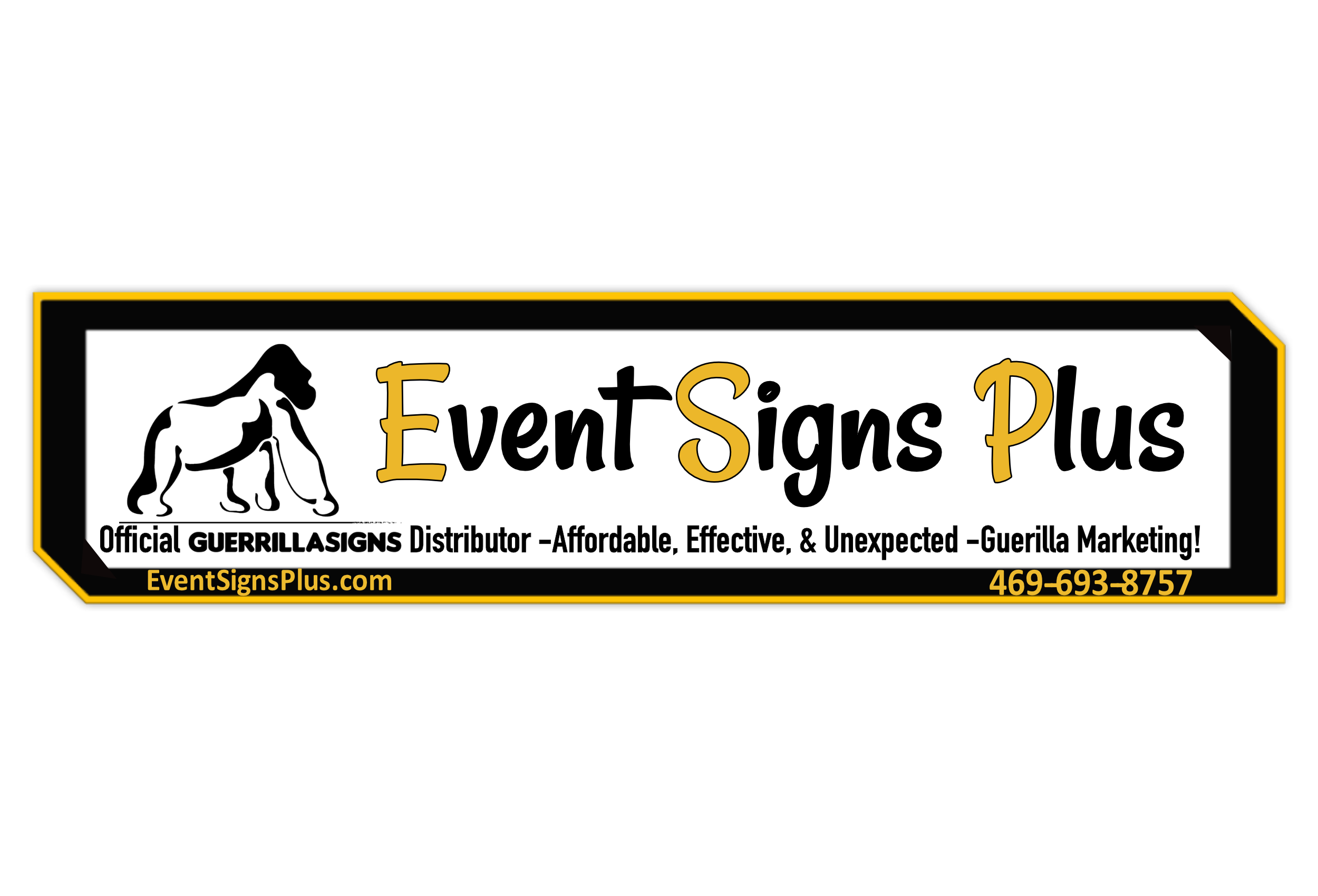 need signs need banners need fundraising