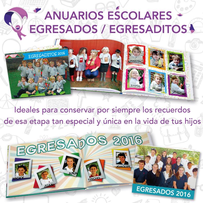 Fotolibro Anuario Escolar - Egresados - Egresaditos - Fotolibros y ...