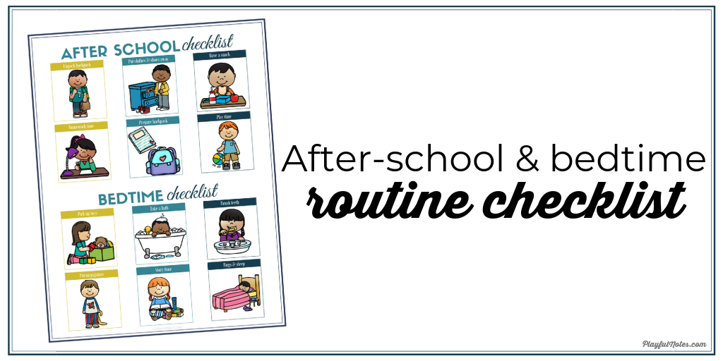 photo relating to After School Schedule Printable named PLAYFULNOTES E-mail Promoting -