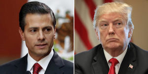 Pena and Trump