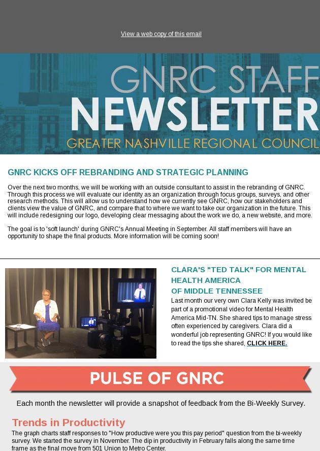 Gnrc June Newsletter