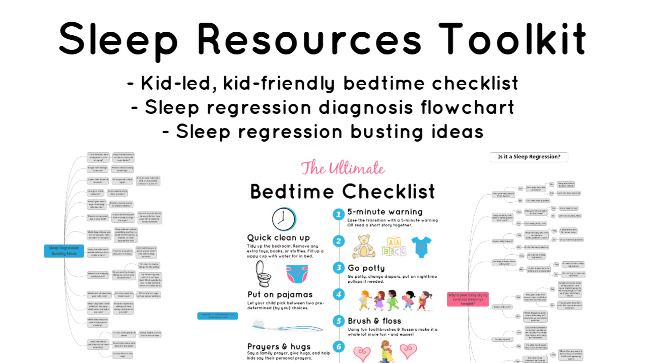 Say Goodnight to Sleep Regressions: the Ultimate Bedtime