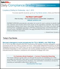 Compliance Briefing