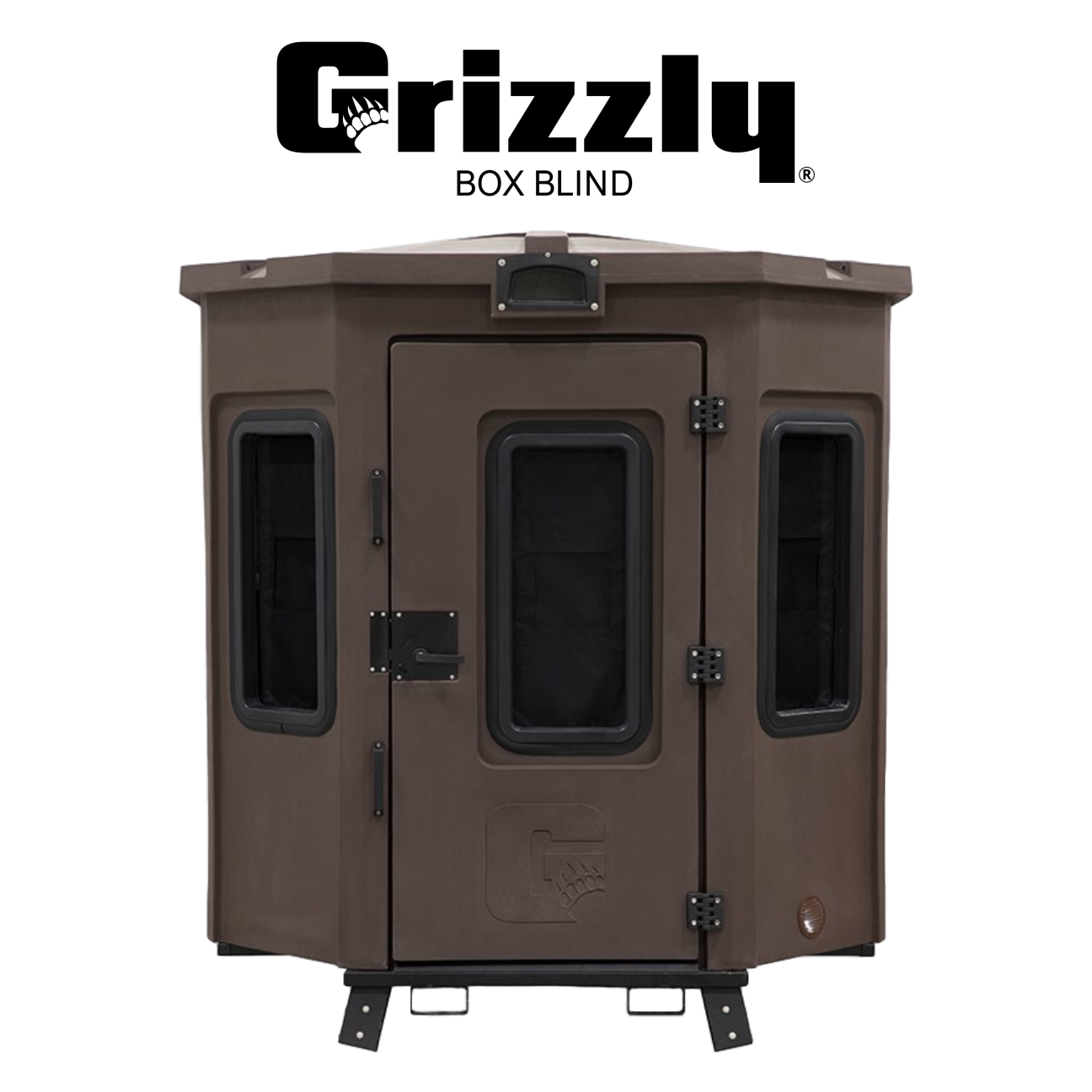 Adventure Guaranteed  Box Blind | Grizzly Coolers