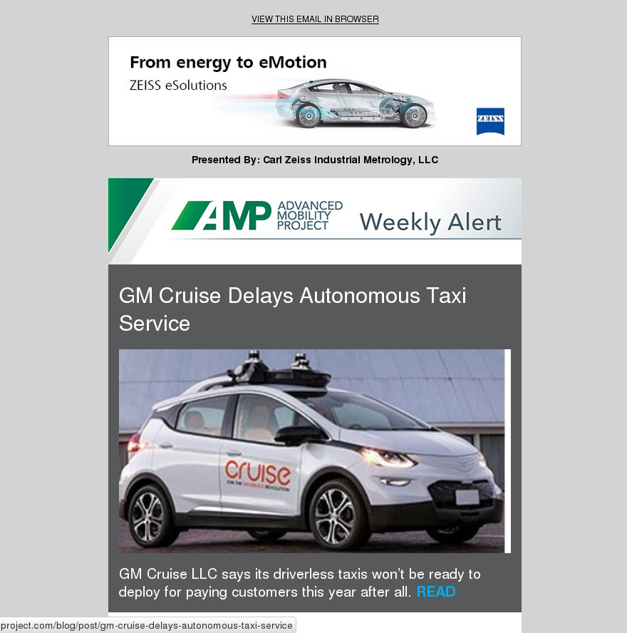 AMP Weekly Issue