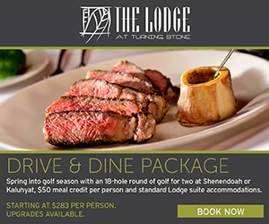 Drive & Dine Package at Turning Stone >>