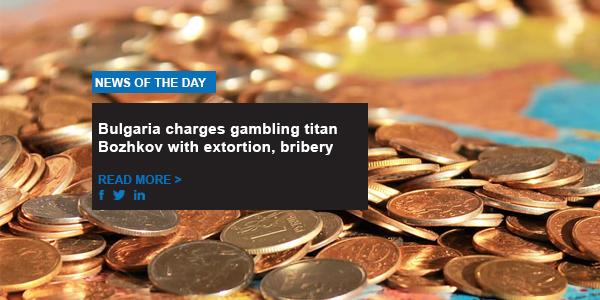 Bulgaria charges gambling titan Bozhkov with extortion, bribery