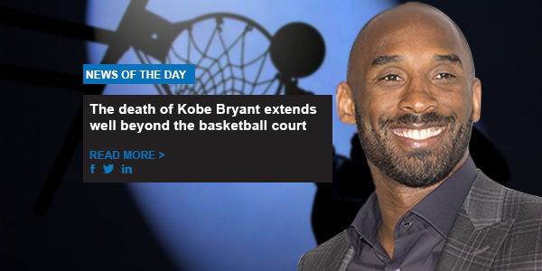 The death of Kobe Bryant extends well beyond the basketball court