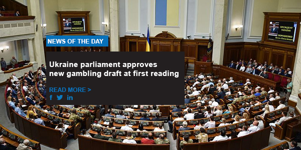 Ukraine parliament approves new gambling draft at first reading