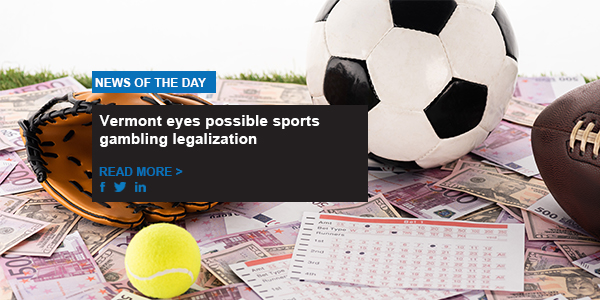 Vermont eyes possible sports gambling legalization