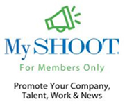 MySHOOT Talent Website banner ad